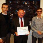 Honorowe członkostwo Fundacji Sapere Aude dla S. Michalkiewicza