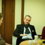 Spotkanie z Robertem Pietryszynem w Fundacji Sapere Aude